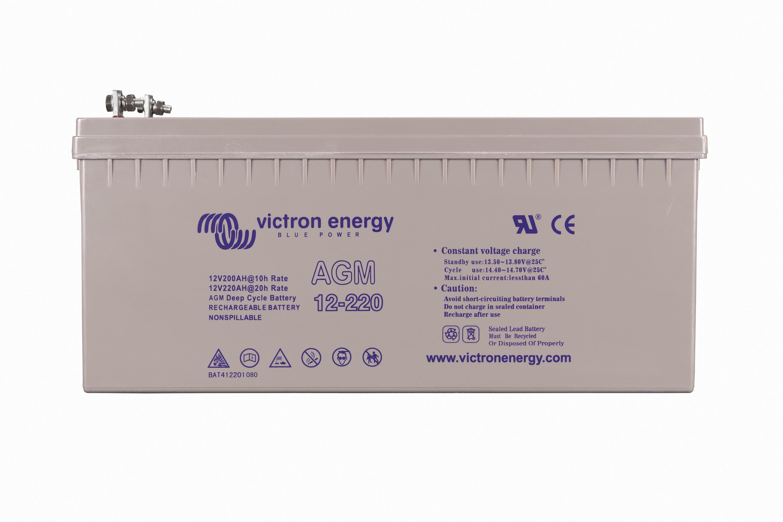 12V220Ah AGM Décharge profonde Batterie (right)